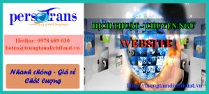 dịch phần mềm