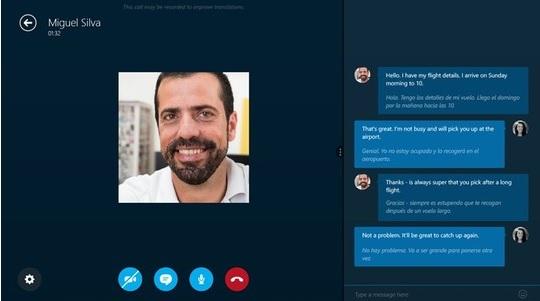 Skype giúp phiên dịch giọng nói thành phụ đề cho cuộc gọi video.