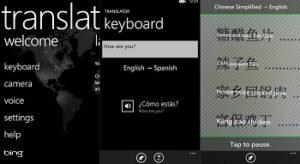 Phần mềm dịch thuật Trên điện thoại