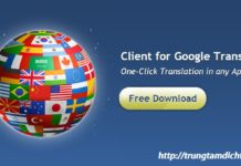 Phần mềm dịch thuật chuyên nghiệp hộ trợ công cụ dịch