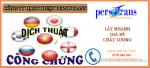 dịch vụ dịch thuật công chứng tài liệu lấy ngay