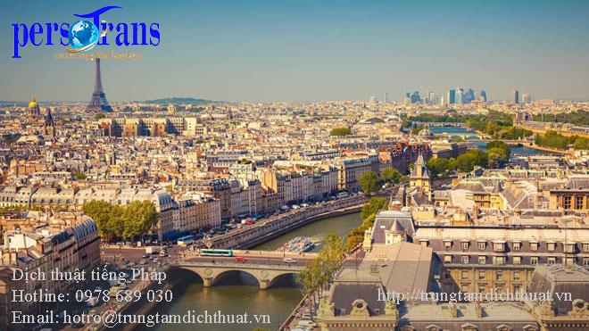 dịch thuật tài liệu hồ sơ văn bản tiếng Pháp giá rẻ