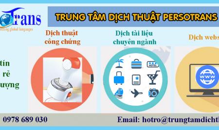 Trung Tâm Dịch Thuật Tài Liệu Văn Bản Uy Tín Chất Lượng Tại Hà Nội