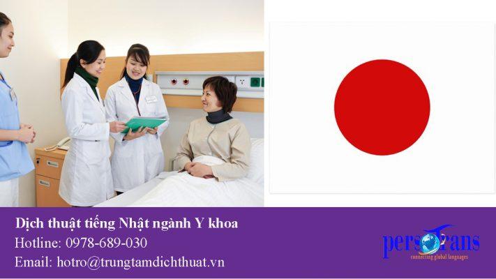 dịch tài liệu ngành y khoa bằng tiếng nhật