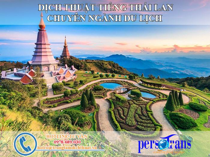 Tại sao lại dịch thuật tiếng Thái Lan chuyên ngành du lịch