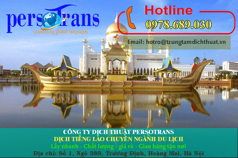 Làm sao để đảm bảo chất lượng bản dịch tài liệu tiếng Lào chuyên ngành du lịch