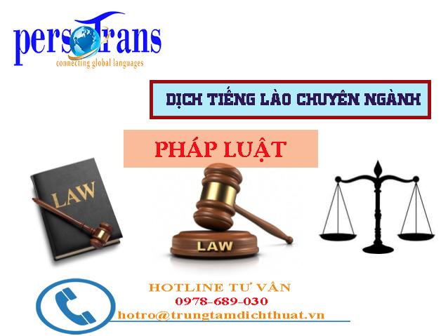 Yếu tố nào để một biên dịch viên dịch tài liệu tiếng Lào chuyên ngành Luật chất lượng?