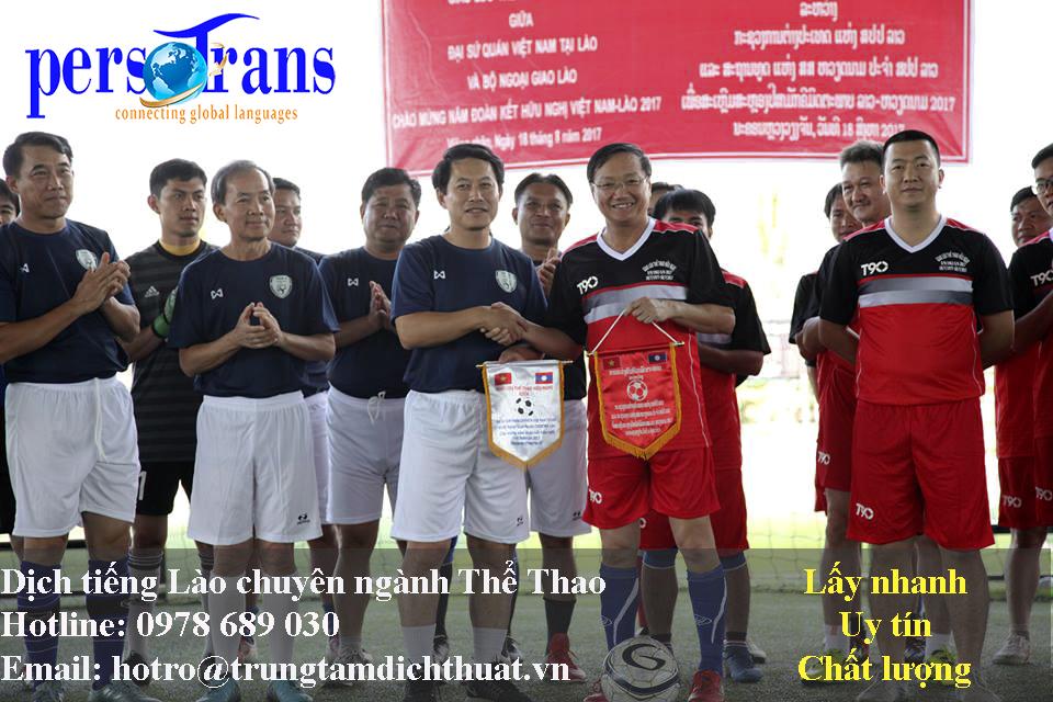 Dịch vụ dịch thuật tiếng Lào chuyên ngành thể thao ngày càng trở nên phổ biến hơn