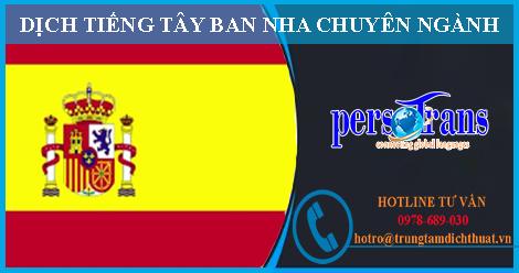 Dịch thuật tiếng Tây Ban Nha chuyên ngành đang có nhiều sự biến động mới