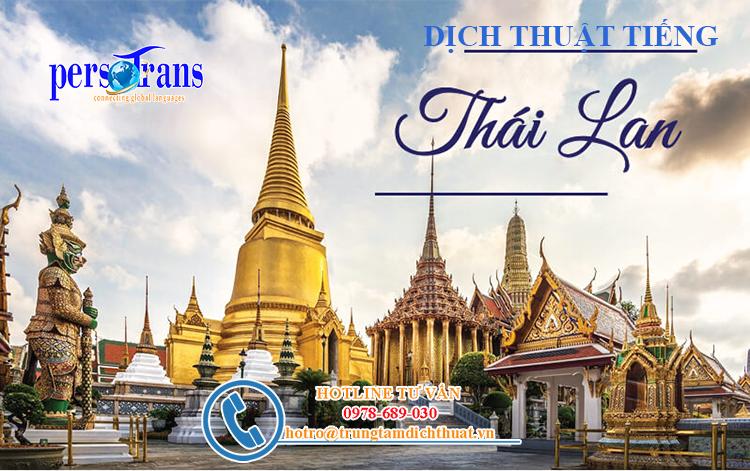 Thực trạng dịch thuật tiếng Thái Lan hiện nay