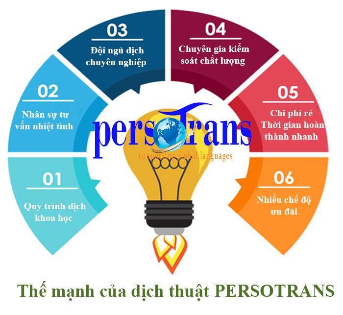 Lý do khách hàng nên lựa chọn dịch vụ dịch thuật tiếng Thái Lan tại Persotrans