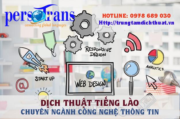 Dịch tiếng Lào chuyên ngành công nghệ thông tin là lĩnh vực ngày càng được chú trọng