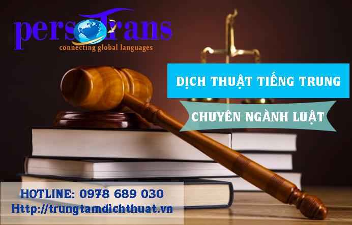 Nhu cầu tất yếu của dịch vụ dịch thuật tài liệu tiếng Trung chuyên ngành Luật hiện nay