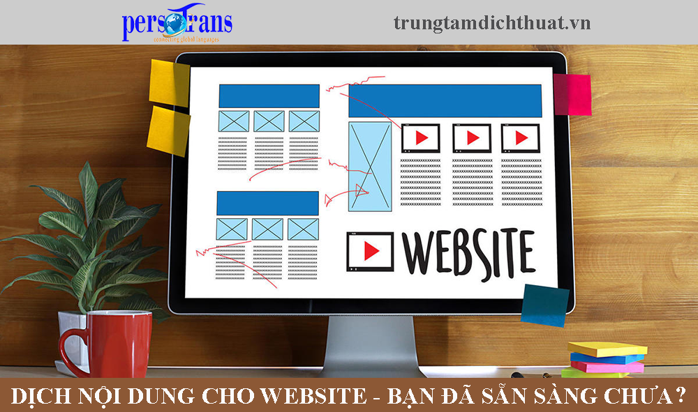 dịch nội dung cho website